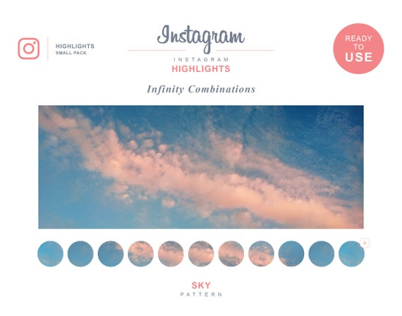 30 instagram highlight icons set small pack instagram etsy 30 instagram highlight icons set small pack instagram highlights instagram template instagram covers sunset sky clouds 002
