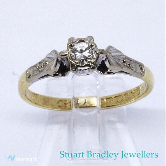 bague diamant 1960