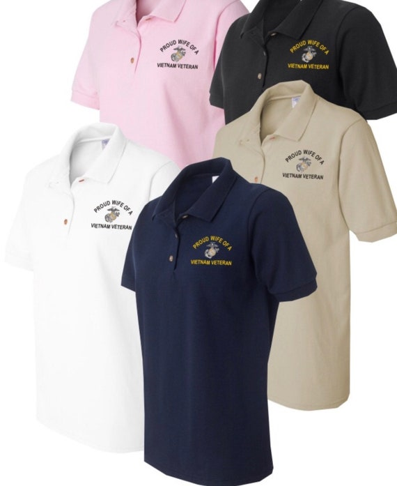 Embroidered Polo Shirts Embroidered Business Polo Shirts Etsy