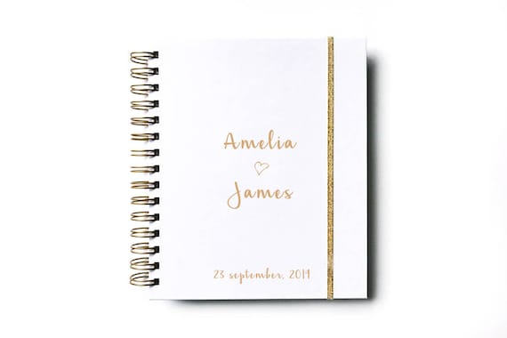 Wedding Planner Personalized Wedding Planner Book Wedding Book Etsy