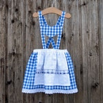 Blue dirndl for child, Munich dress, Bavarian wedding, October party with child, Octoberfest with girl, bridal girl, girl outfit Bavaria,