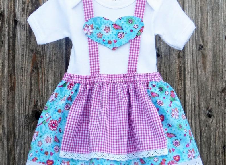pink christening robe Baby\u2018s first dirndl baby dirndl Bavarian wedding christening in Bavaria,dress for Octoberfest Bavarian dress