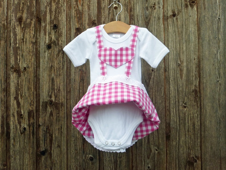 babybody in garbstyle First dirndl for babies