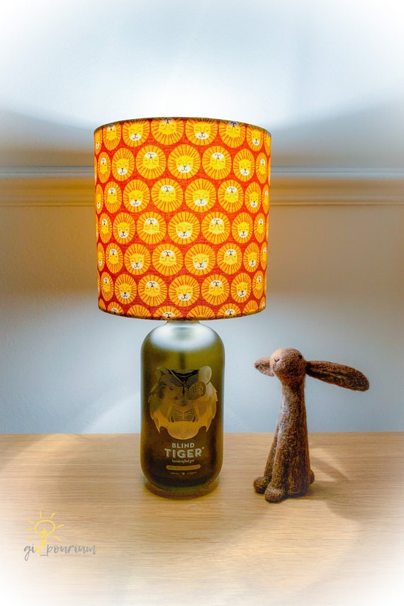 BLIND TIGER GIN Lamp