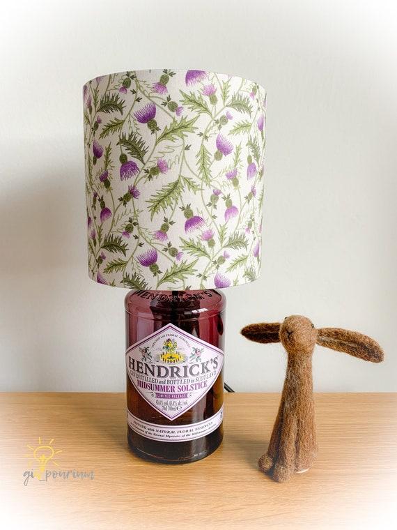 Limited Edition HENDRICKS (Midsummer Solstice) GIN Lamp