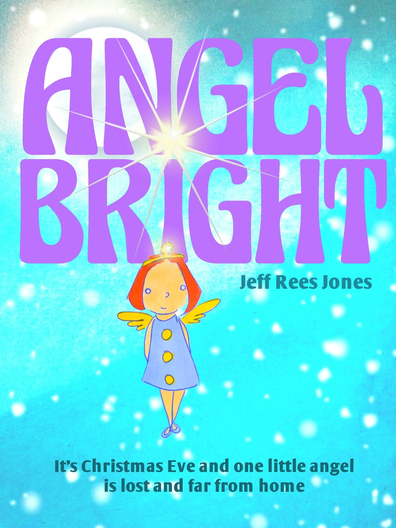 Angel Bright   one signed copy  paperback book image 0