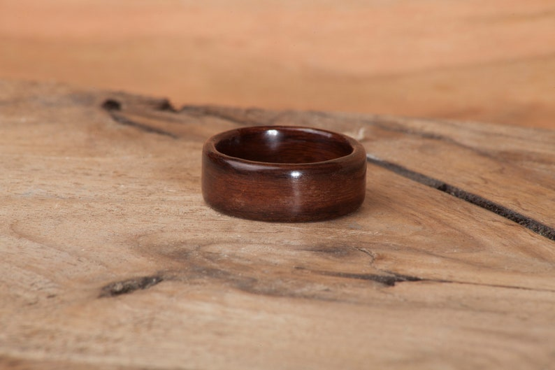 bentwood ring Rosewood Wood Ringwood rings for men wood wedding band,bentwood ring wood ring men Bolivian Rosewood bentwood ring