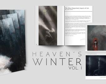 ARTBOOK: Heaven's Winter Vol. 1 // Fantasy art