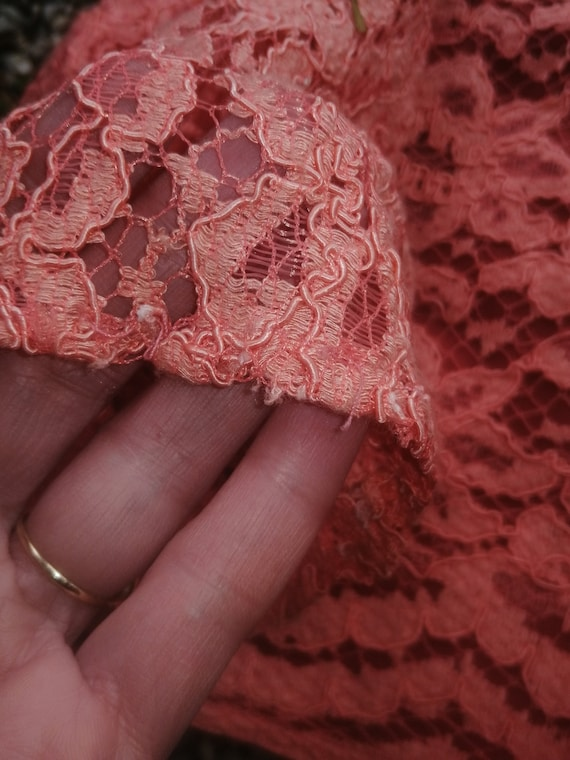 Vintage 40s 30s lace bolero - image 8