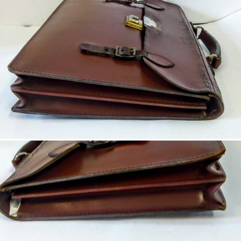 hide leather satchel school satchel vintage laptop bag brown vintage satchel school bag 40x30cm Vintage leather satchel messenger bag