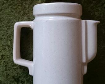 KIL teapot art deco style, former Yugoslavia pottery,