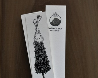 Ram on Fir Tree Bookmark