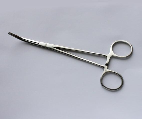 Items similar to Soviet vintage curved Kocher forceps
