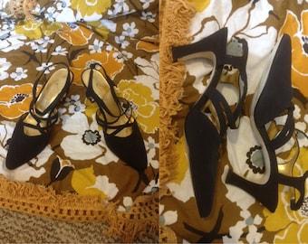 0757d501539 80's prom high heels | Etsy