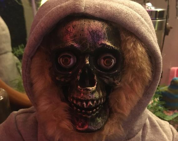 Skull Face Teddy Bear