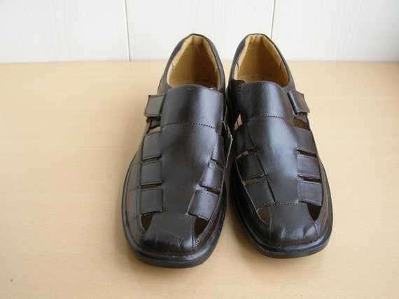 Size 9us. Men's Leather Shoes. Genuine Leather Sh… - image 2