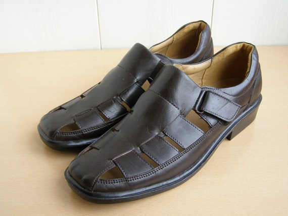 Size 9us. Men's Leather Shoes. Genuine Leather Sho
