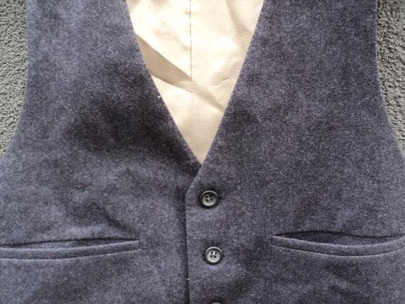 années 1960 vintage pour homme gilet / / gilet en laine / mariage / taille XS / / Vintage / Extra petit cadeau pour lui 6887b5