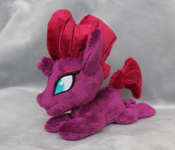 My Little Pony Custom Plush Plushie Ooak Fanart Tempest Shadow Etsy