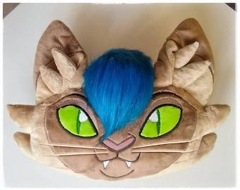 My Little Pony Movie Fanart Capper Cat Pillow with Fur