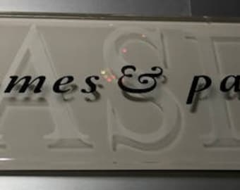 Personalized Glass Tile