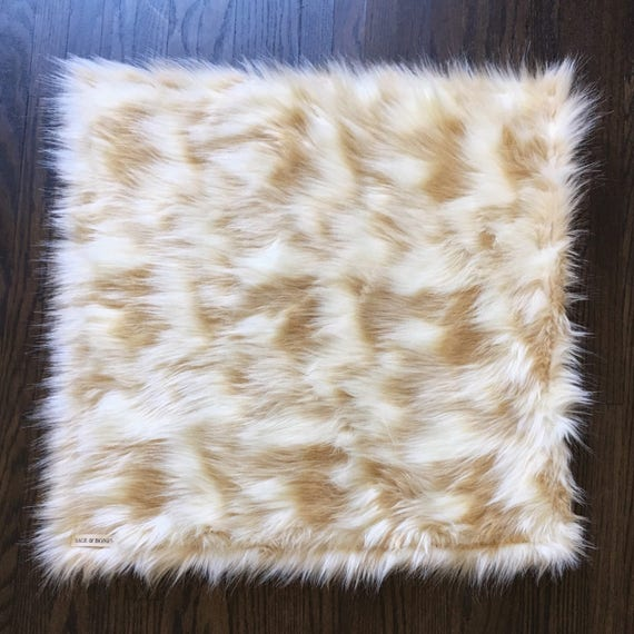 Dog Mat. Cat Mat. Dog Bed. Cat Bed. Faux Fur Rug. Gift For