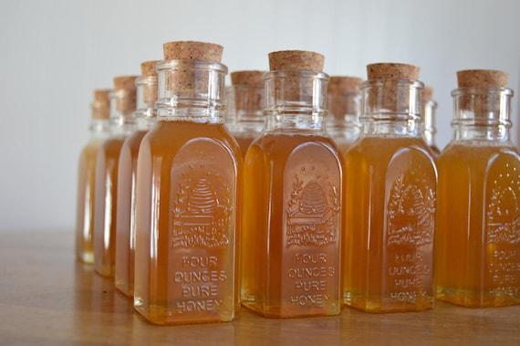 Lot Of 49 4oz Muth Honey Jar Wedding Favors Mini Honey Etsy