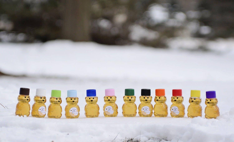 Lot of 20 2oz Mini Honey Bears Wedding Favor Baby Shower