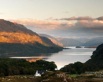 Loch Maree from Poolewe, Scotland Landscape Photo Print