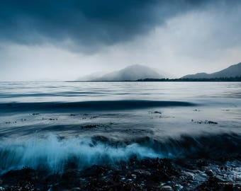 Stormy Weather at Bunree, Loch Linnhe, Scotland Landscape Print