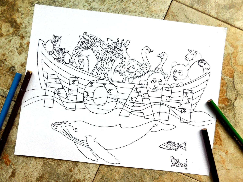 Noah Malvorlagen Bogen Biblische Tiere Bibel Ozean Wale Leben Im Meer Arche Noah Die Sintflut Giraffe Panda