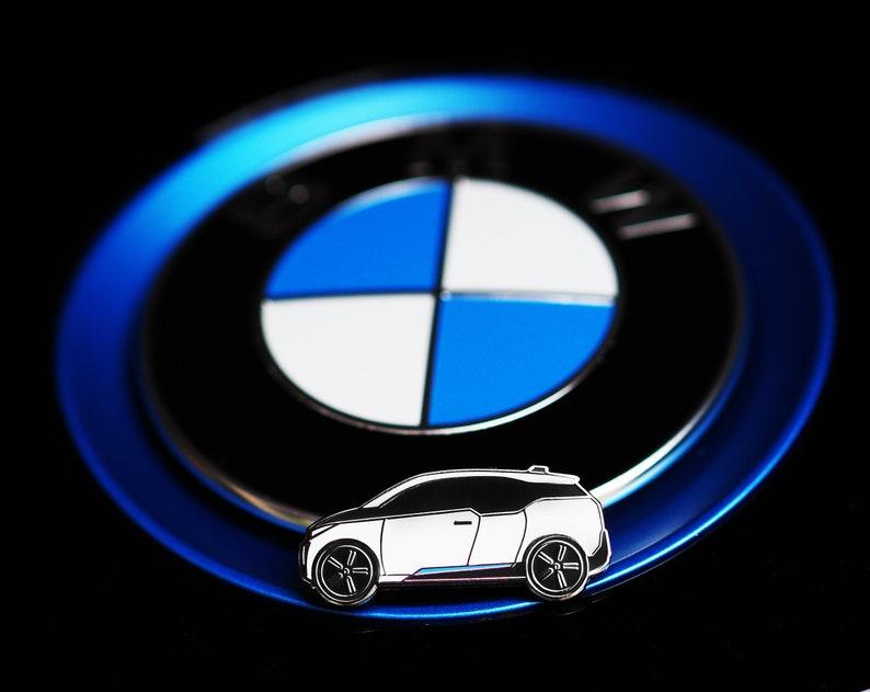 BMW i3 Hard Enamel Pin image 0