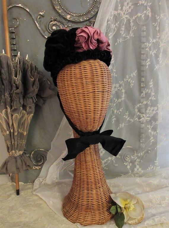 Victorian Bonnet, c1880s
