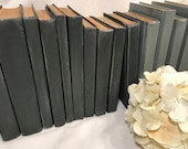 Black and White Wedding, Modern Black Books, Modern Grey Books, Modern Gray and Black Books, modern decor, painted books