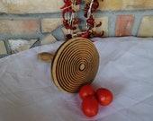 Primitive Wooden Sock Darner-Antique Wooden Mushroom-Rustic Decor-Antique Sewing Tool-tomato press-Mushroom-Wooden utensils-Kitchen tools
