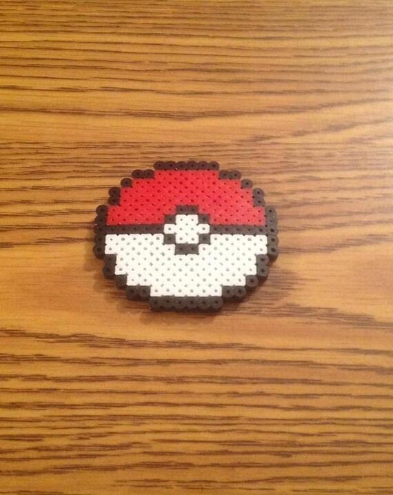 Pokeball Fridge Magnet Pokemon Go Nintendo Pixel Art Geeky Nerdy Home Decor Fan Art Gift For Gamers