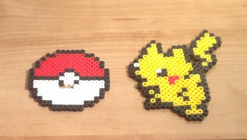 639cd1546f ANDARE Pokemon Pikachu da tavolo Pixel Art Decorazione per | Etsy