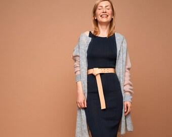 knit coat grey ash rose, cashmere, mohair, SABRINA WEIGT, cardigan, mohair coat, mohair jacket, mohair cardigan, cashmere coat, grey coat