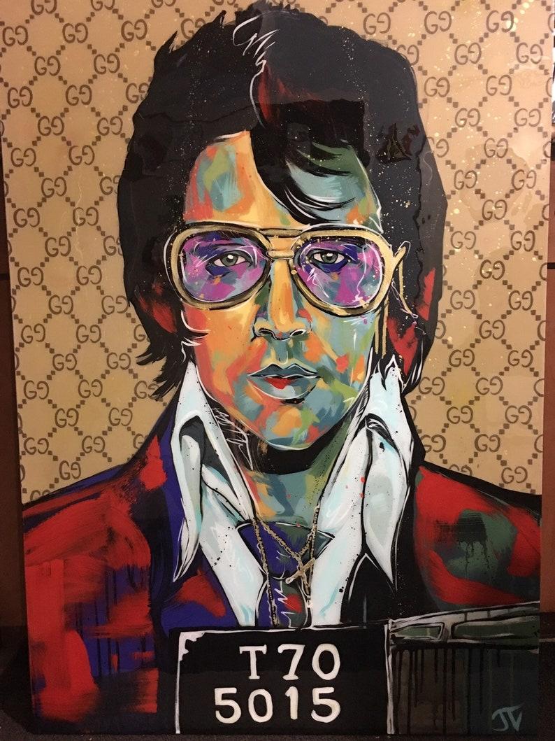 Gucci Elvis Presley Aufkleber Medium Louis Vuitton Supreme Kostenlose Versand Jayvart Aufkleber Aufkleber Auto Laptop Iphone Xr Galaxie