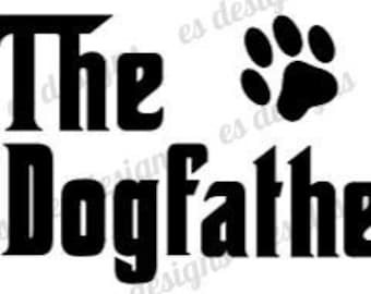 Dog Father Svg Etsy