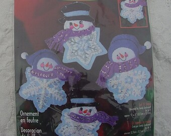 by Sandy Garbrandt for Janlynn Owl Ornaments kit