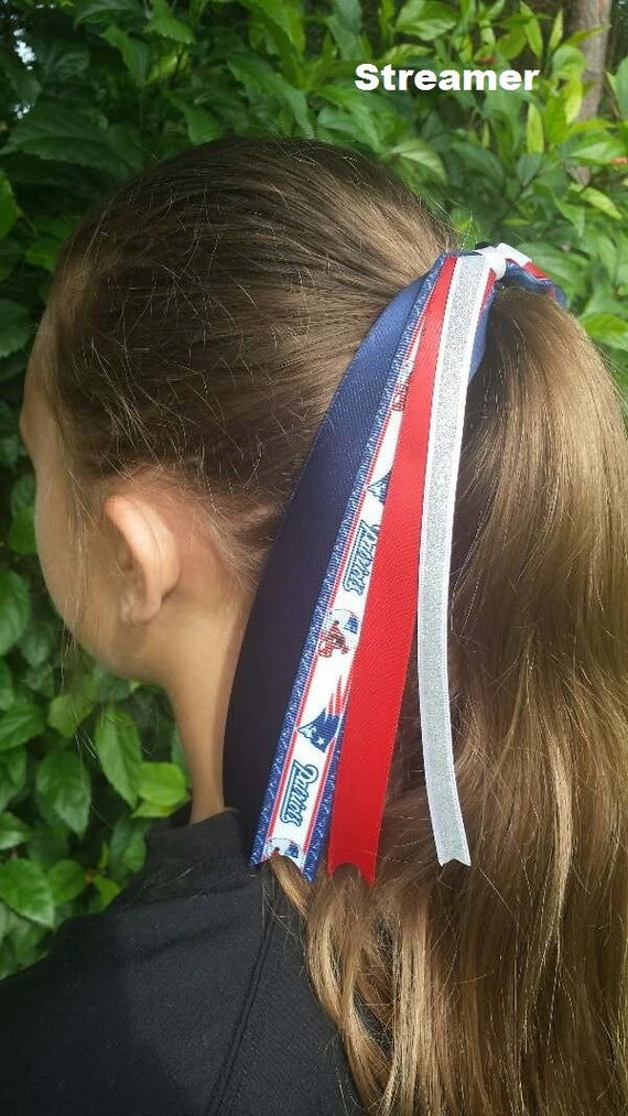 Team Colors Ribbon Ponytail Holder Made with Green Bay Packers Grosgrain Ribbon
