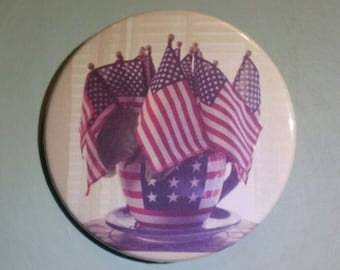 Flag bouquet - Button Pin - S-F10014