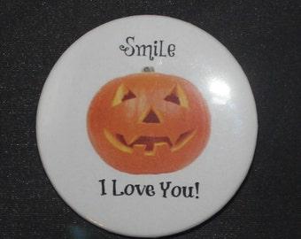 I Love You Pumpkin - Button Pin - S-H10014