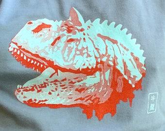 Carnotaurus Design - Retro Style