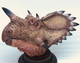 1/10 Regaliceratops Bust. For Jurassic Park & Dinosaur Fans!