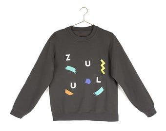 NEW Dark Sweater - Grey Anthracite Color - Unisex sweater zNylF3csM