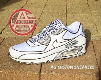 Custom Color Nike Vapormax Plus | Etsy