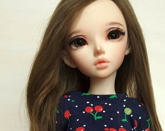 BJD MSD cherry swetaer/shirt for 1/4 sized dolls