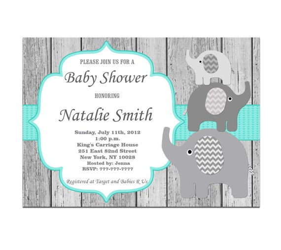 image relating to Printable Baby Shower Invitations Boy named Little one Shower Invites, Elephant Youngster Shower Invitation Boy Female Gender Impartial Printable, Child Boy Shower Invitations, Fast Obtain 01-1w1